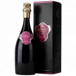 Champagne Gosset Grand Rosé en étui