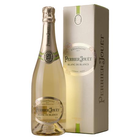 Champagne Perrier Jouët Blanc de Blancs en étui
