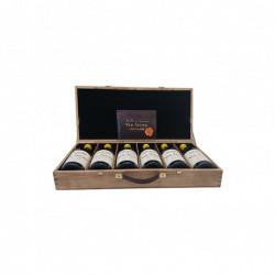 Maison du Vigneron Coffret de 6 bouteilles de Vin Jaune Côtes de Jura 2006 à 2011