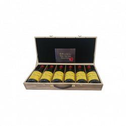 Maison du Vigneron Coffret de 6 bouteilles de Vin Jaune Château-Chalon 2006 à 2011