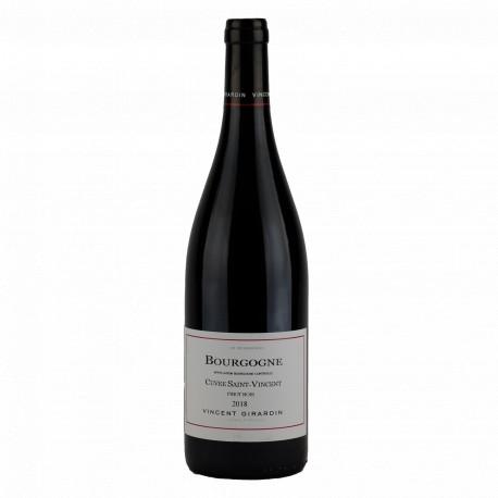 Domaine Vincent Girardin Bourgogne Rouge Cuvée Saint Vincent 2018
