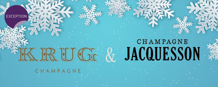 Champagne Krug & Champagne Jacquesson